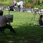 Painting in Central Park
