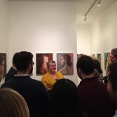 Exhibition at Dacia Gallery for Artist Residency