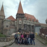 Visiting Hunedoara Castle, we had too much fun here